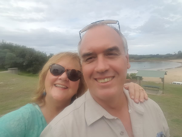 Co-founders and owners Steve and Linda Scott