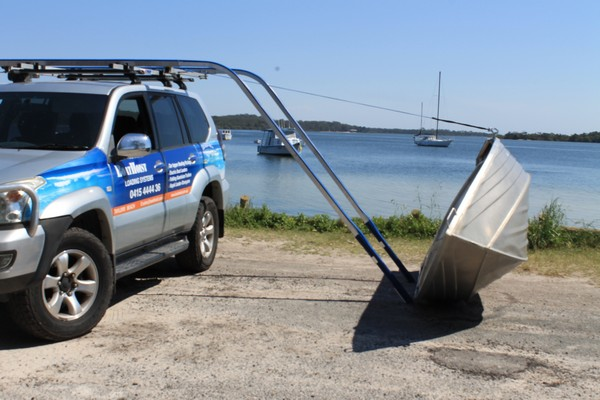 Electric Car Top Boat Loader