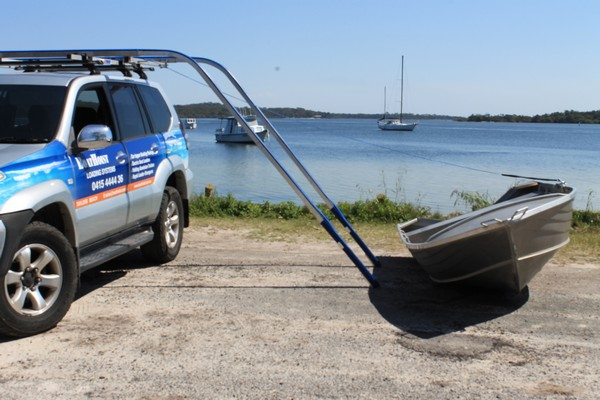 Sidewinder Boat Loader Boathoist Boat Loader Kayak