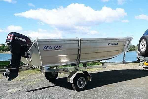 Folding Trailer - Boat